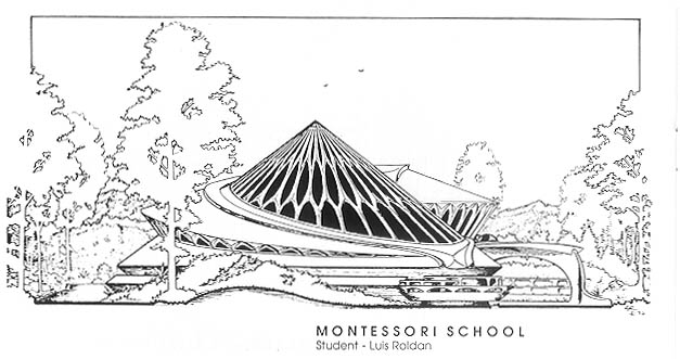 Montessori School by Luis Roldan