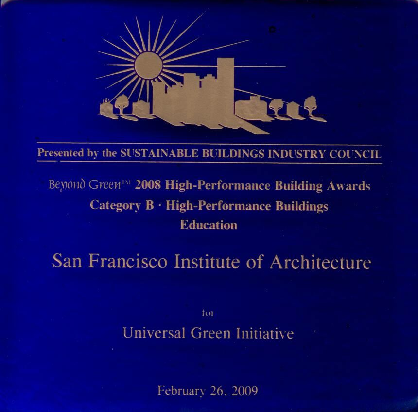 Green Building Award
