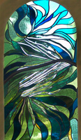 Joseph Henseler Glass Art Green